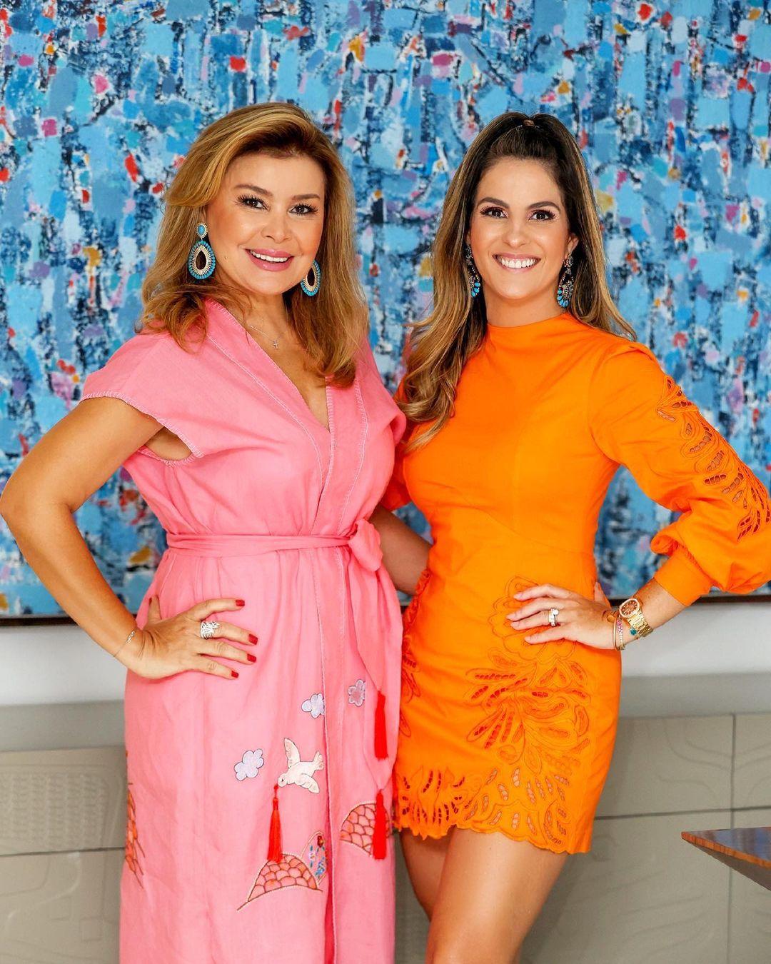 Ana Cristina Machado convidou Mariana Mota, que já era cliente da Rosá, para uma collab especial (Foto: Reprodução/Instagram)