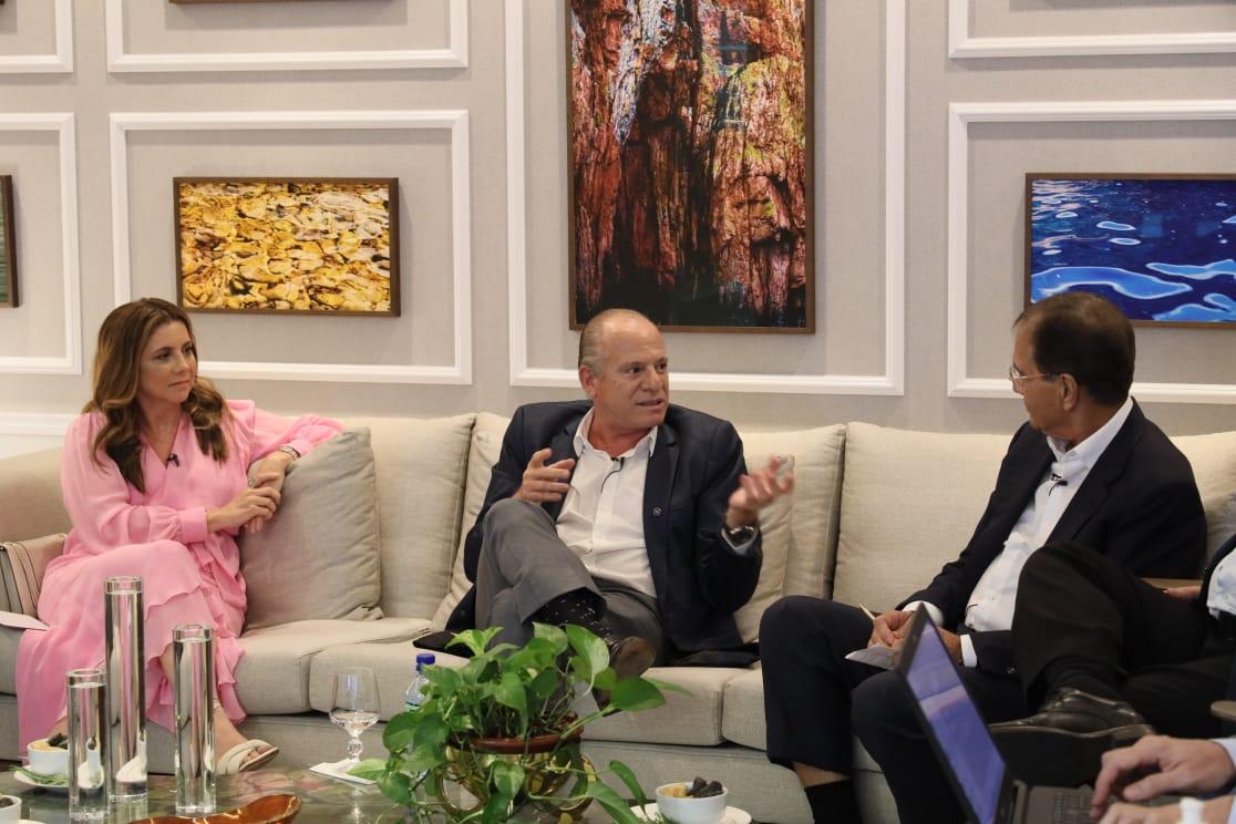Jorge Luiz de Lima inaugura novo formato de encontro no Lide Ceará