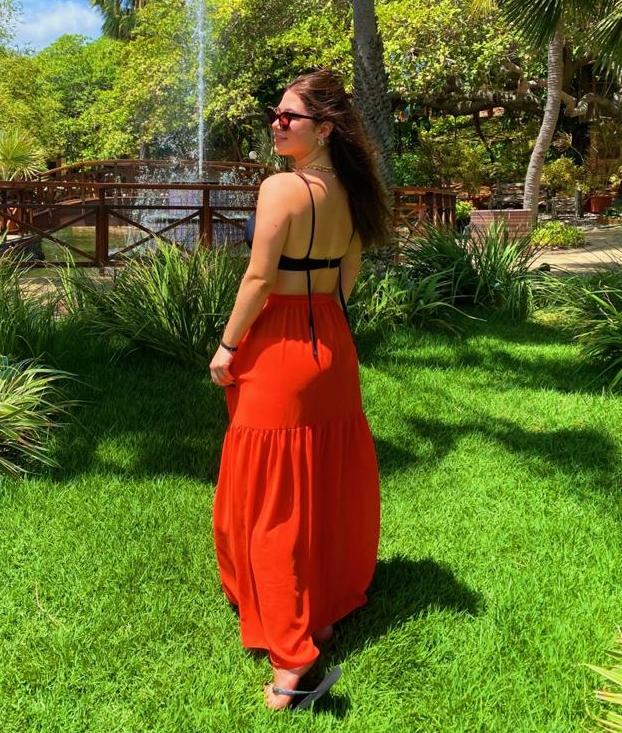 Marcela Dias Branco começou uma mudança na rotina ano passado e celebra o resultado positivo com perfil no Instagram (Foto: Arquivo pessoal)