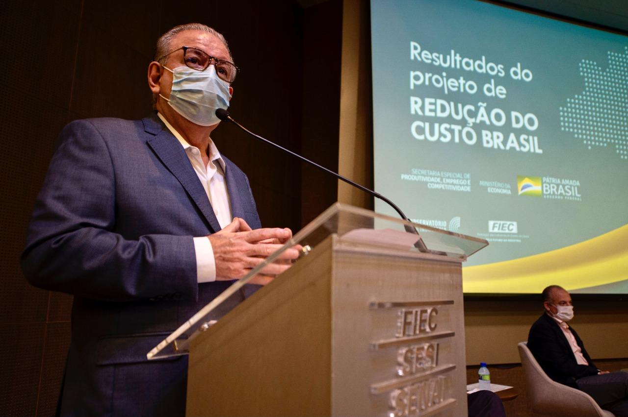 Fiec e Ministério da Economia apresentam estudo para reduzir Custo Brasil