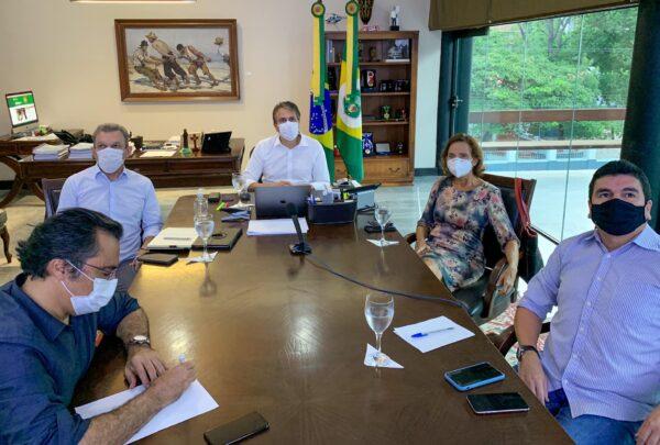 Camilo e Sarto anunciam flexibilização do isolamento a partir de 12 de abril