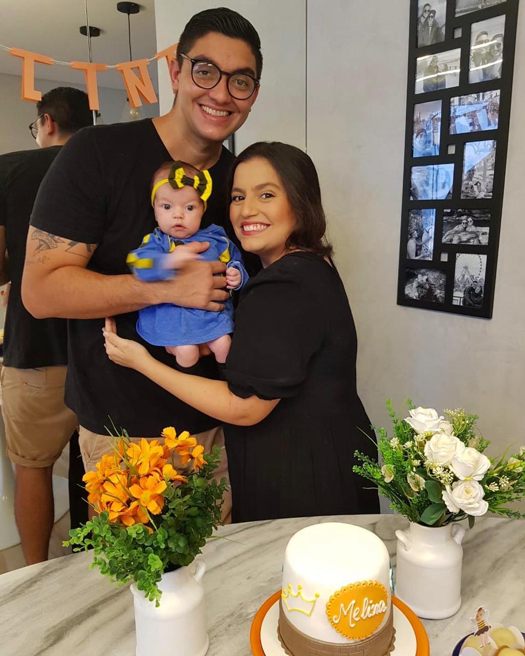 Bebê cearense ganha mêsversário inspirado no BBB às vésperas da final do reality