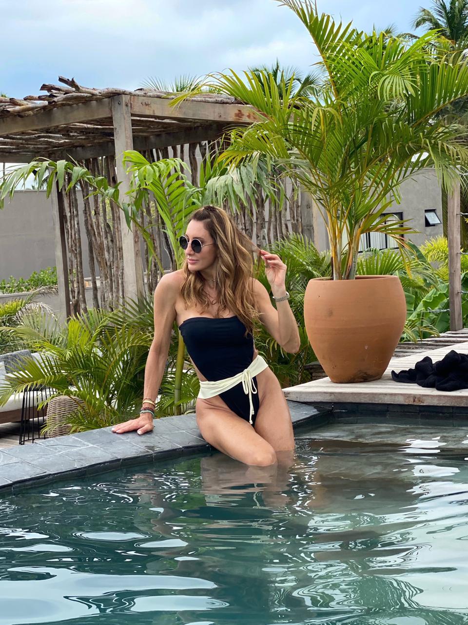 Melaine Fernandes relata experiência no Makena Hotel: 'Sustentável e chique'