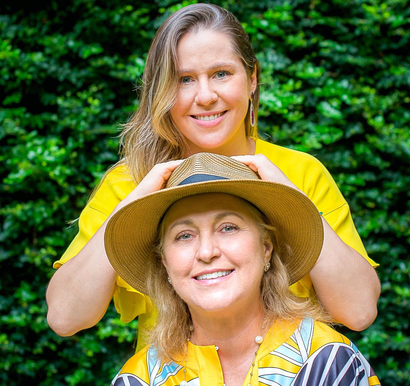 Mariza e Nanette Castelo Branco  lideram juntas a Castelo Borges Segurança (Foto: Alex Campelo)