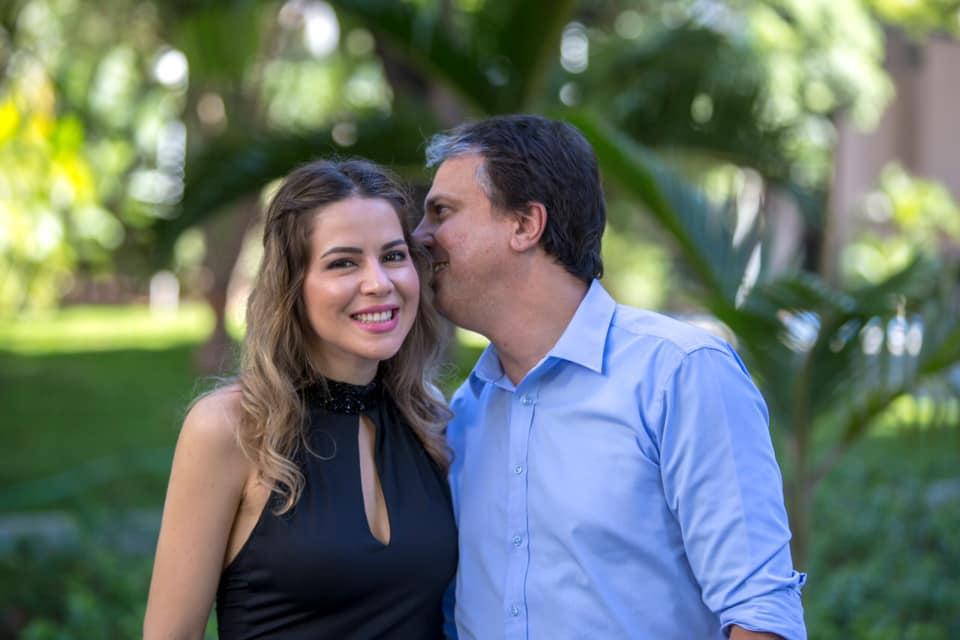 Onélia e Camilo Santana estão esperando o terceiro filho