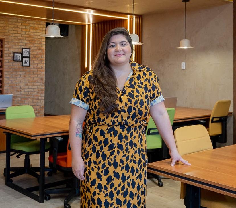 Arquiteta Yeda Baquit assina novo espaço da Band em Fortaleza