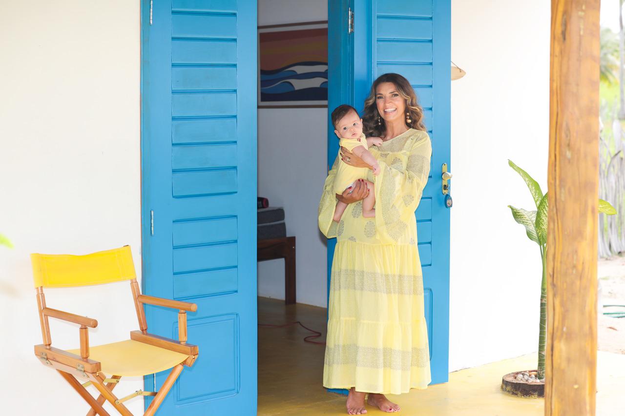 Márcia Travessoni revela o que mudou depois que virou avó