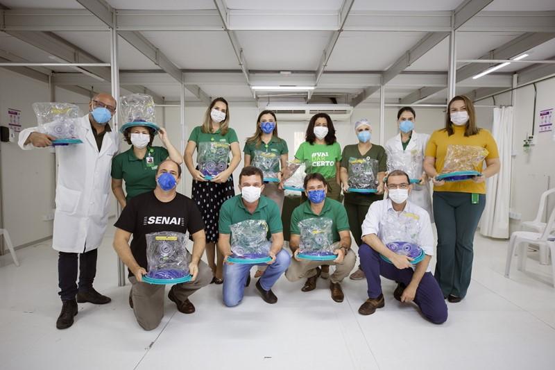 Mais de mil pacientes já foram beneficiados pelo uso do capacete Elmo
