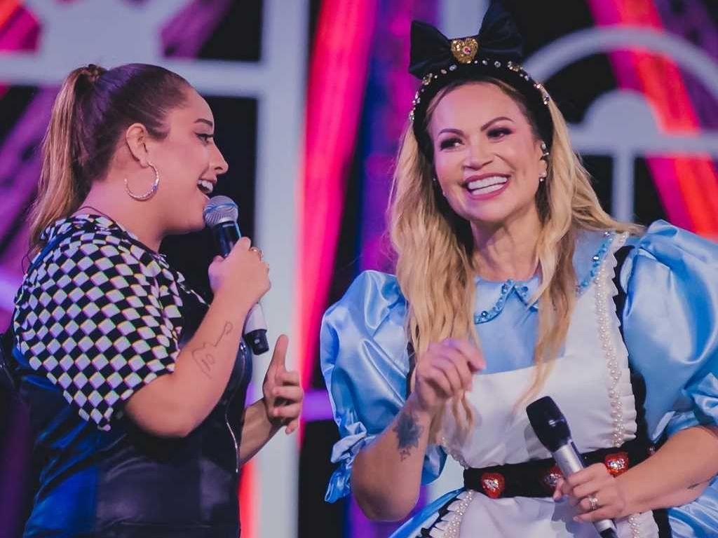 A cearense foi uma das cantoras convidadas para participar da live junina de Solange Almeida. (Foto: Reprodução/ Instagram)