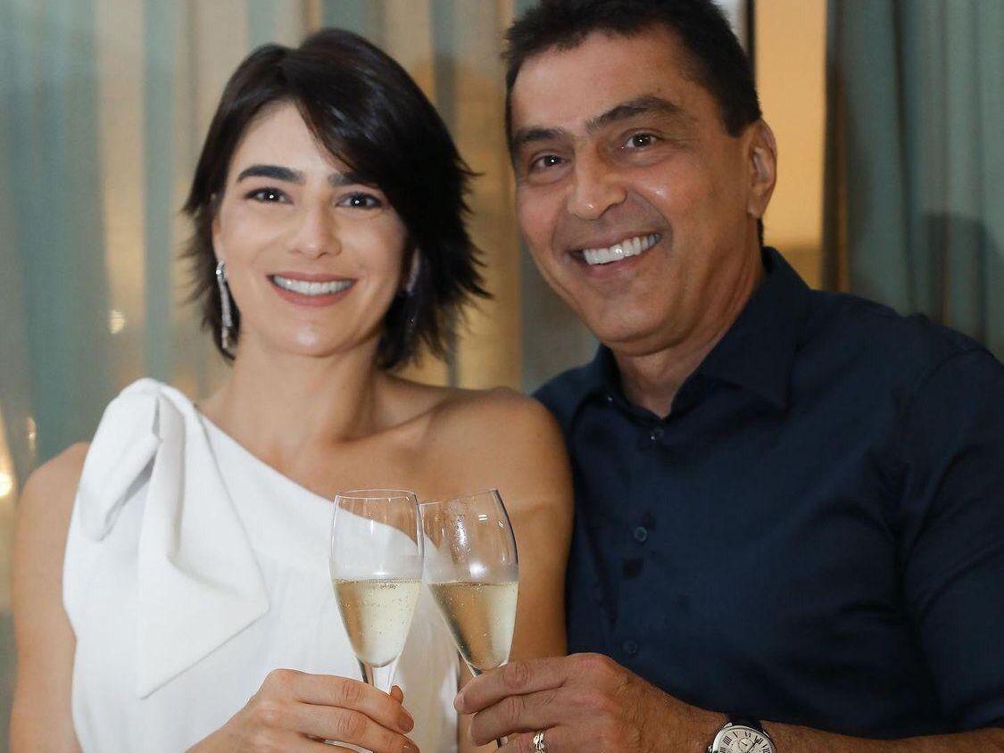Maryana Canamary e Idezio Rolim renovam votos de casamento
