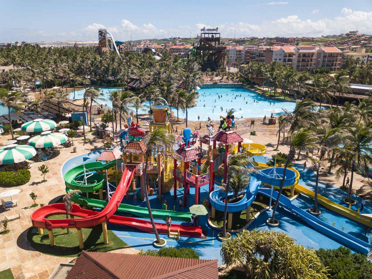 Beach Park retoma atividades com agendamento prévio de visita