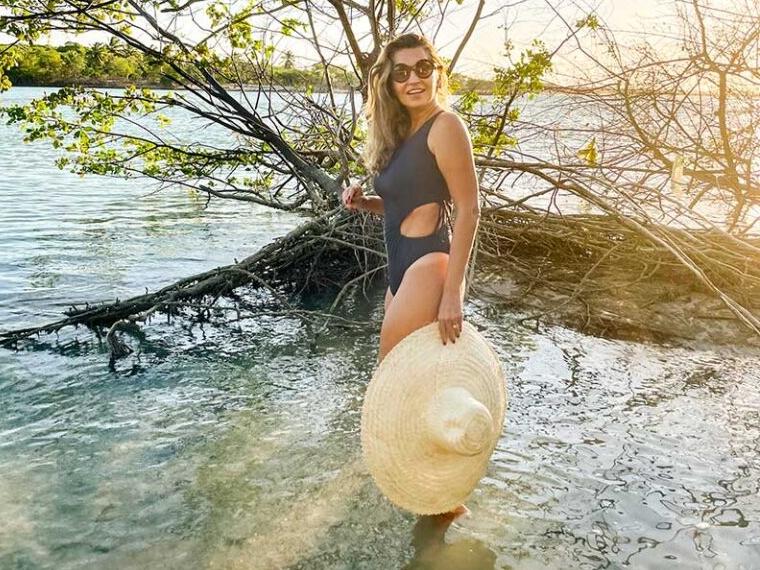 Márcia Travessoni exibe as belezas do mangue de Moitas