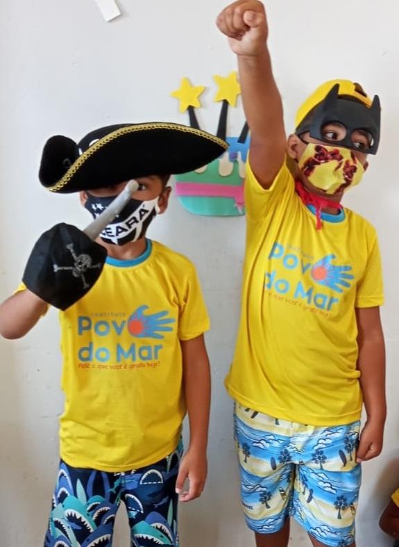 Colônia de férias do Instituto Povo do Mar traz educação como tema principal
