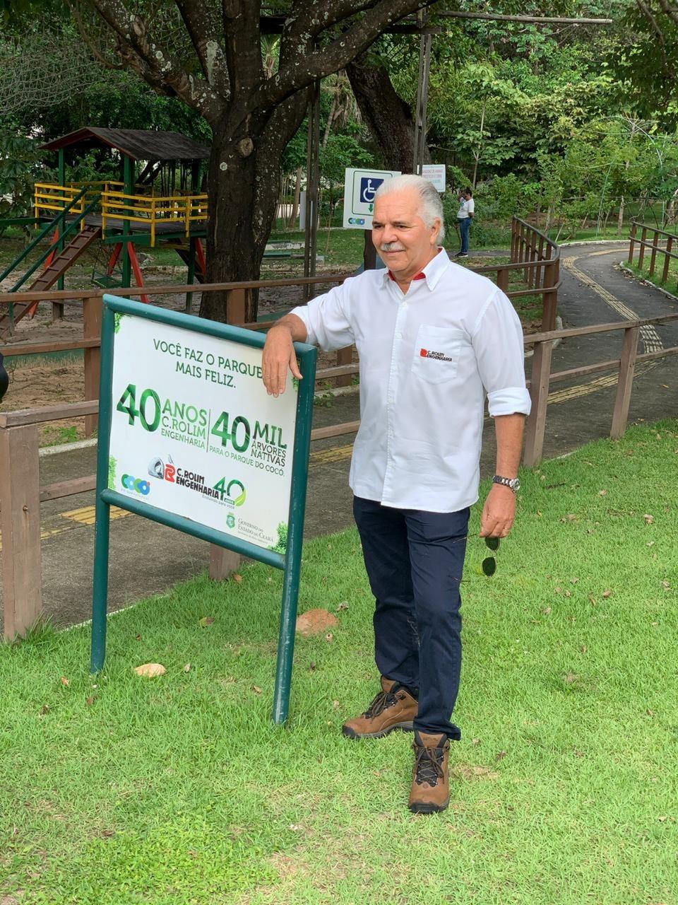 C. Rolim Engenharia completa o plantio de 40 mil árvores em Fortaleza