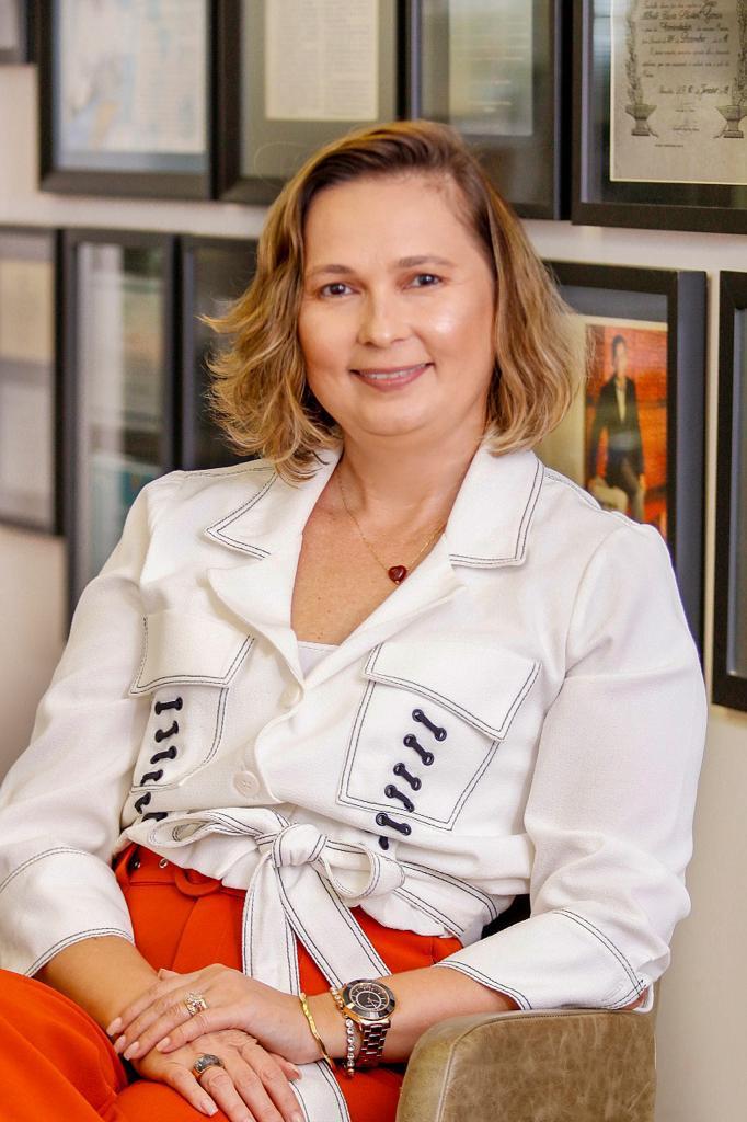 Renata Paula Santigo é a primeira mulher a presidir o Ibef-Ceará (Foto: Arquivo MT)