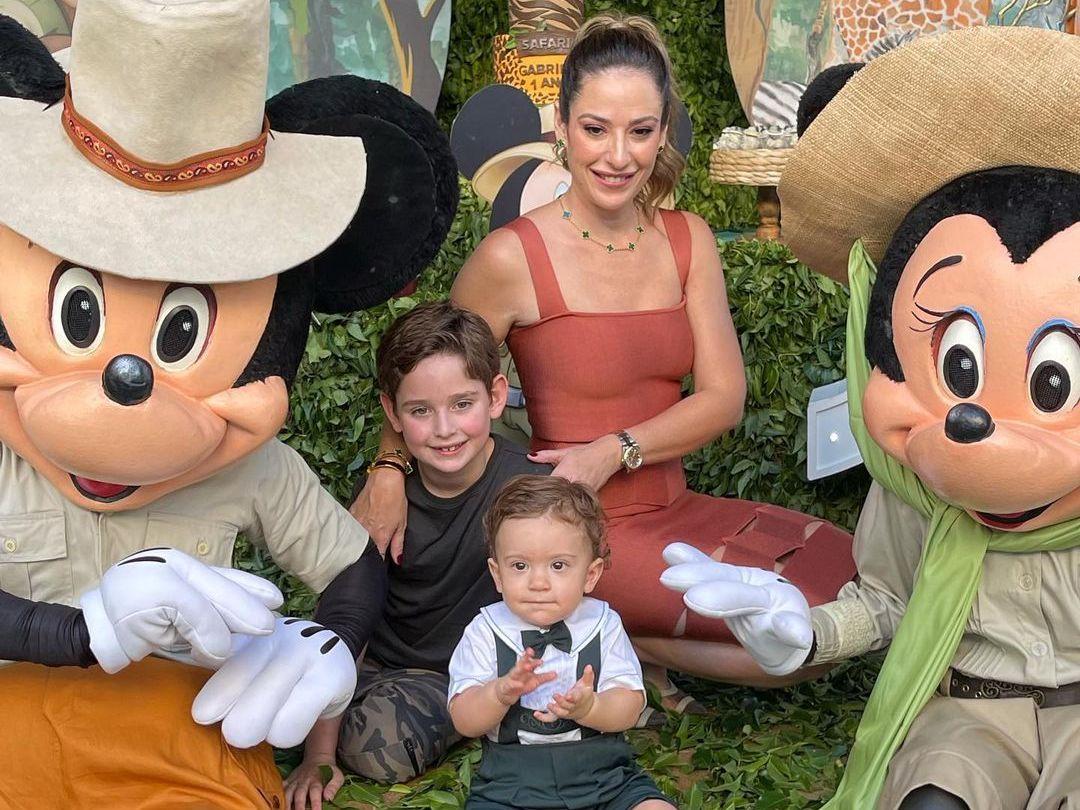Silvinha Leal celebra 1 ano do filho Gabriel com festa intimista no Cocó