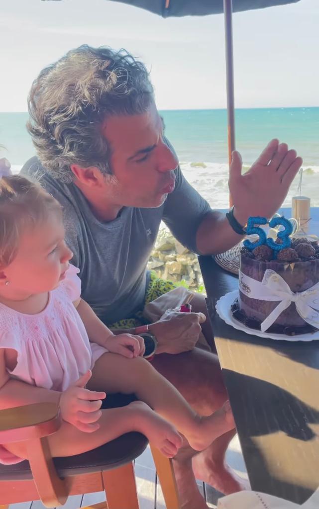 Alvaro Garnero comemora o aniversário em família no Ceará
