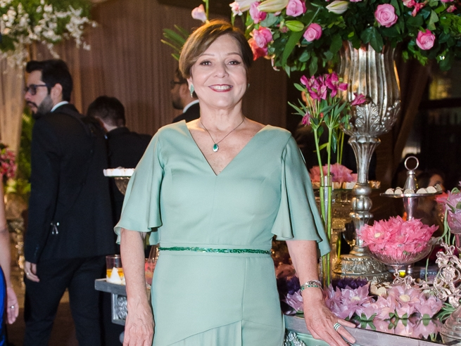 Graça Romcy comemora aniversário em família
