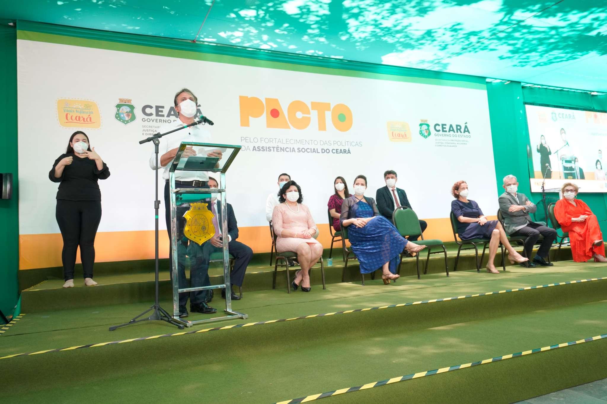 Governo investe mais de R$ 72 milhões em pacto que fortalece políticas da Assistência Social no Ceará