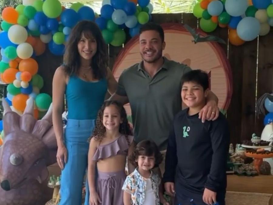 Wesley Safadão e Thyane comemoram aniversário do filho caçula