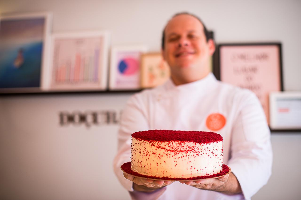 Conheça o segredo da melhor torta 'Red Velvet' de Fortaleza