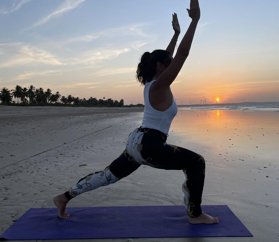 Márcia Travessoni promove evento com aulas gratuitas de yoga no Shopping RioMar Fortaleza