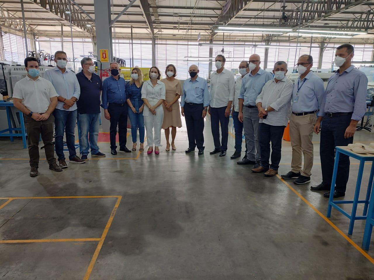 Grendene ampliará número de fábricas instaladas no Ceará