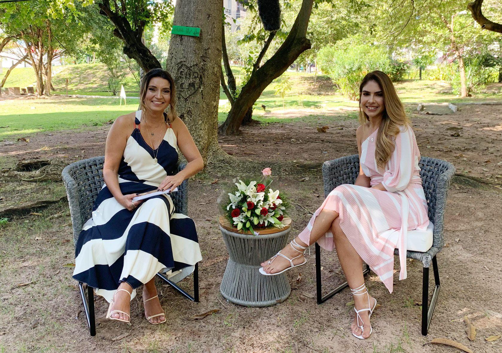 Dia de Santa Teresinha: Márcia Travessoni promove live com Rafaela Otoch e Madre Teresinha