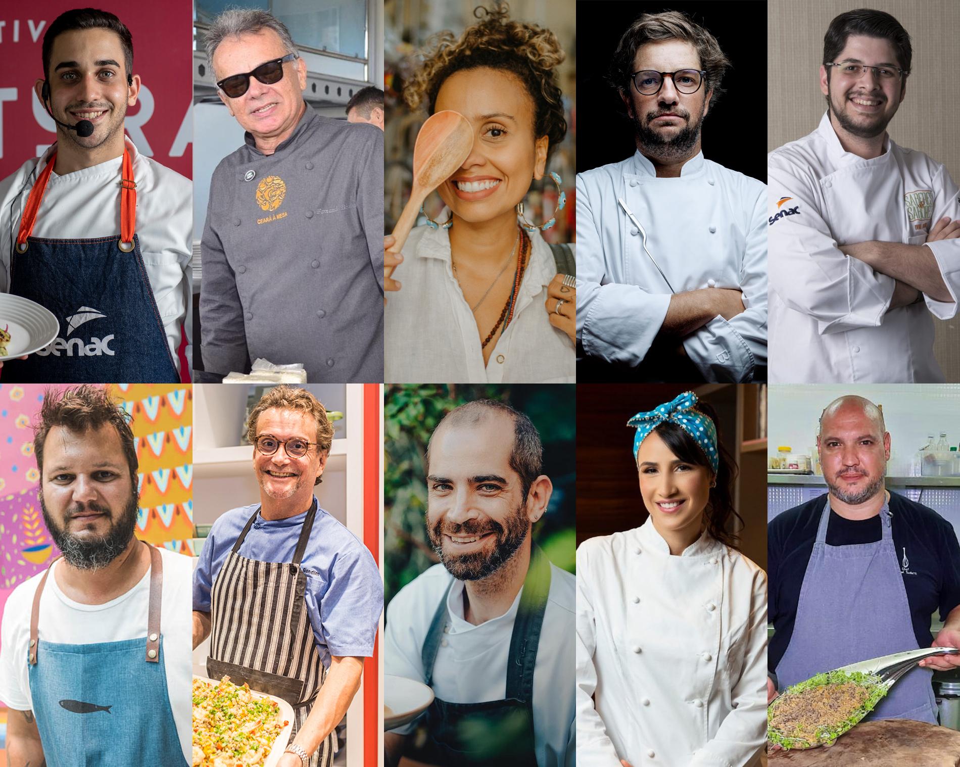 Os 10 melhores chefs do Ceará