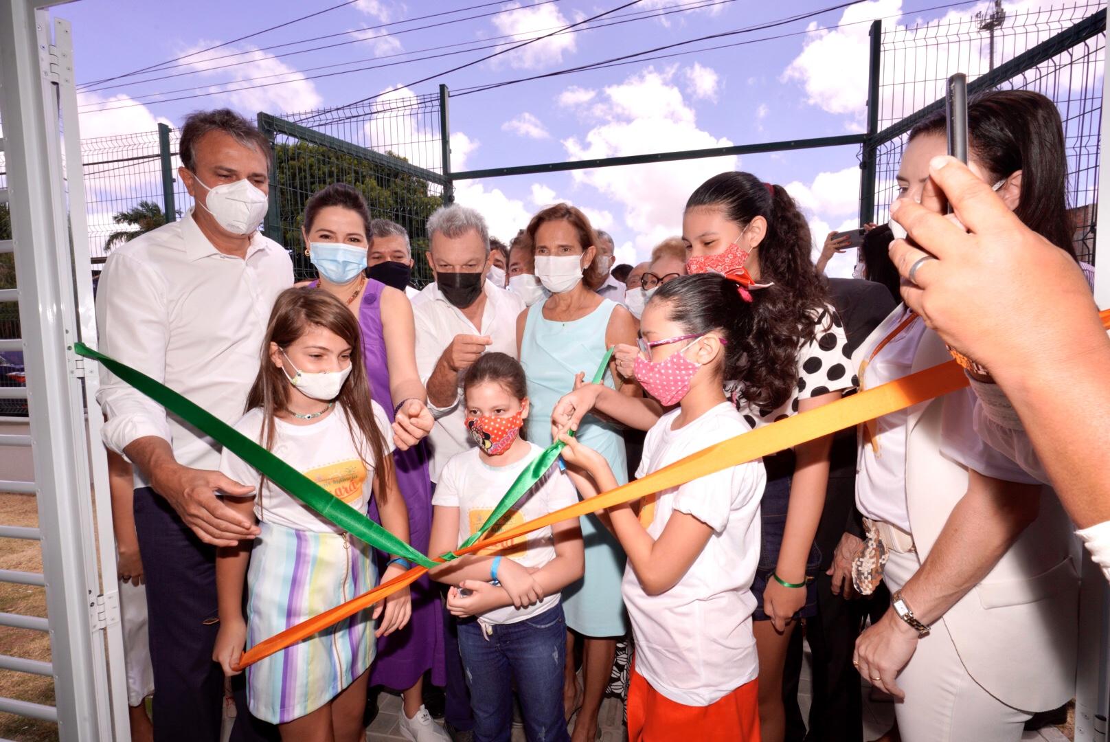 Camilo Santana inaugura o primeiro Complexo Mais Infância do Ceará
